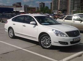 Заказ авто на свадьбу Ниссан Теана Екатеринбург