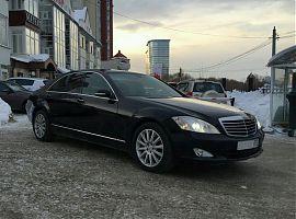 Прокат Мерседес S500W221L в Екатеринбурге