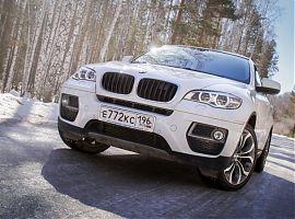 Прокат БМВ Х6 в Екатеринбурге с водителем