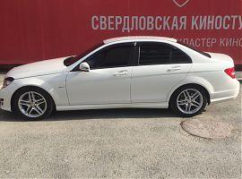 Прокат Мерседес С с водителем Екатеринбург