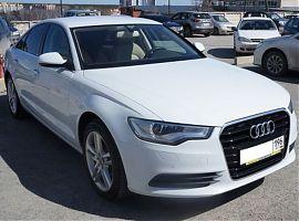 Прокат белого авто на свадьбу Ауди А6 в Екатеринбурге