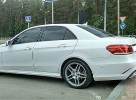 Заказ Мерседеса E212 на свадьбу Екатеринбург