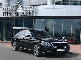 Прокат Мерседеса 222 с водителем в Екатеринбурге