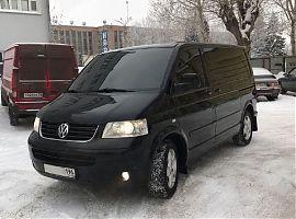 Аренда чёрного Фольксваген Мультивэн Екатеринбург