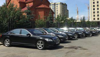 Аренда Мерседес с водителем круглосуточно Екатеринбург