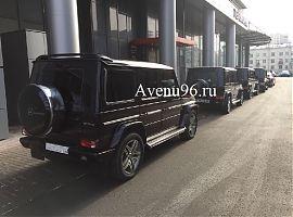 Заказ Мерседес с водителем Екатеринбург