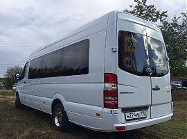 Заказ микроавтобуса Мерседес Спринтер люкс Екатеринбург
