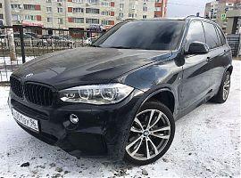 Аренда чёрного БМВ Х5 рестайлинг Екатеринбург