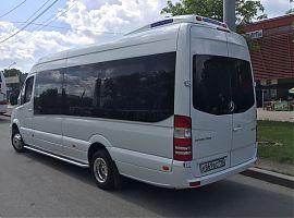 Заказ представительского микроавтобуса Мерседес Спринтер Екатеринбург