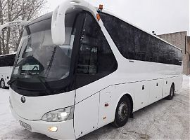 Заказать туристический автобус Ютонг 48 мест