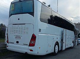 Заказ автобуса Ютонг 51+1 в Екатеринбурге