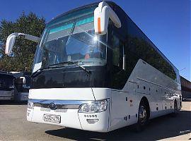Арендовать автобус Ютонг 50 мест с туалетом в Екатеринбурге
