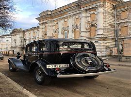 Заказ чёрной ретро машины ГАЗ-М1 Екатеринбург