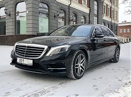 Аренда представительского автомобиля Мерседес S222 Екатеринбург