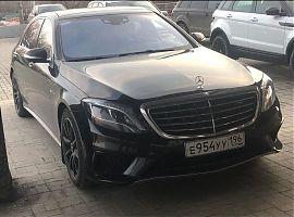 Прокат Мерседес S с водителем Екатеринрбург
