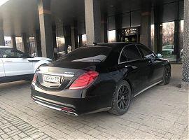 Прокат Мерседес S с водителем Екатеринбург