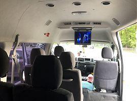 Заказ микроавтобуса Тойота Хайс 11 мест Екатеринбург