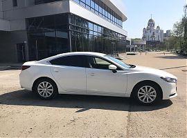 Свадьба авто напрокат в Екатеринбурге Мазда 6