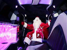 Заказ лимузина с Дедом Морозом!!!