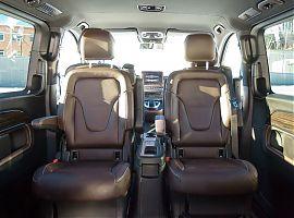 Заказать минивен Mercedes V class Екатеринбург